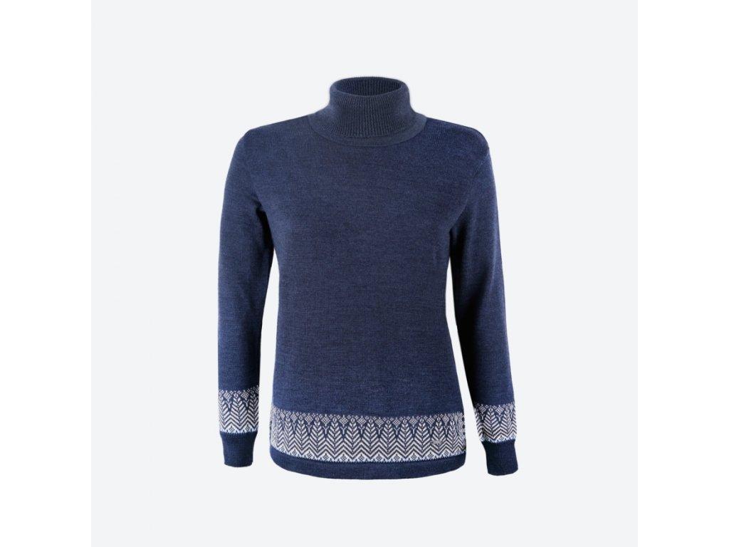 Merino svetr Kama 5022, modrá