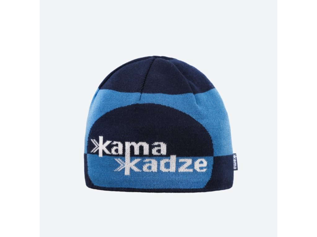 Pletená Merino čepice KAMAKADZE K62
