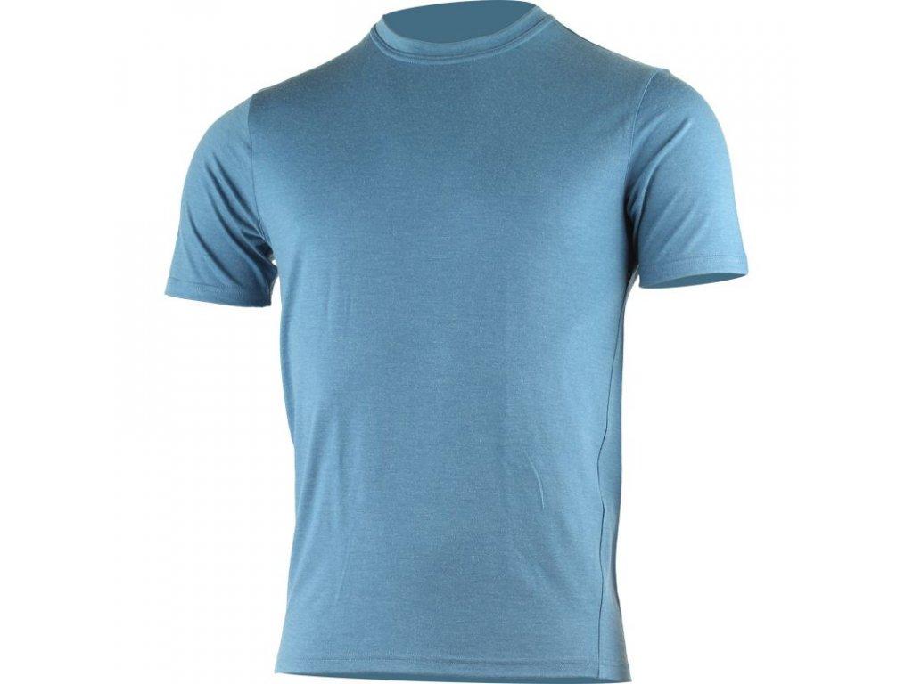 Lasting pánské merino triko LAMAR modré