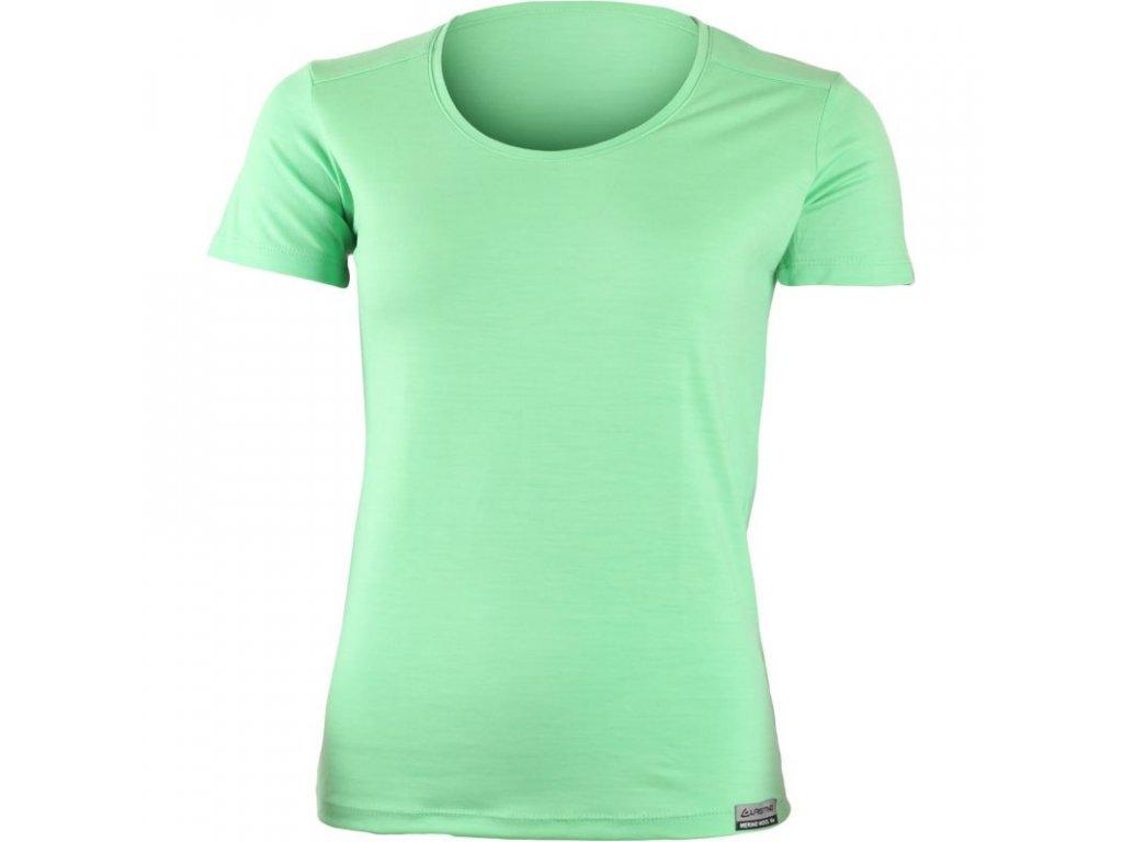 Lasting dámské merino triko IRENA zelené