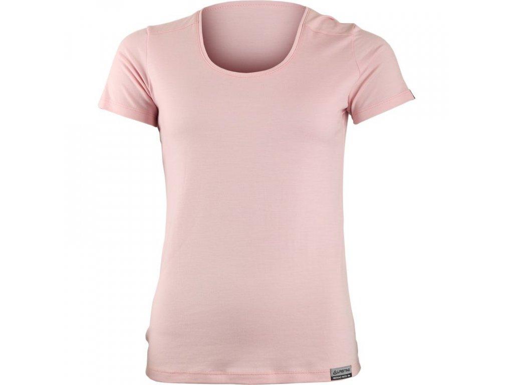 Lasting dámské merino triko IRENA růžové