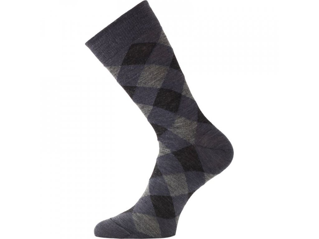 Lasting merino ponožky WPK modré