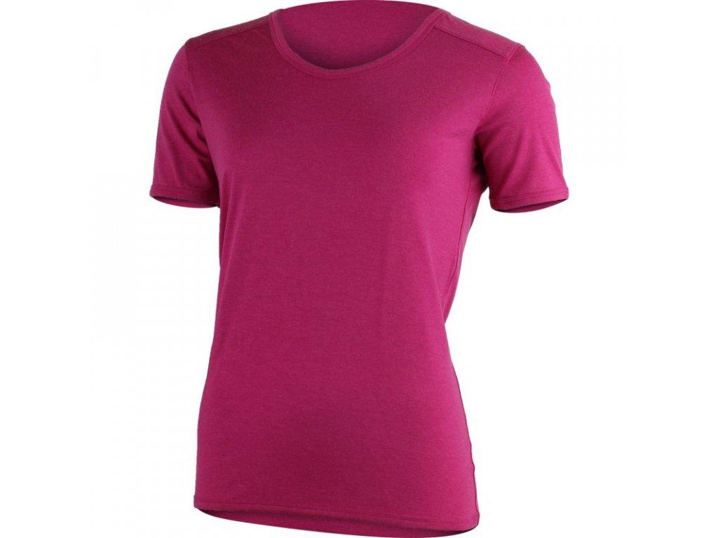 Lasting dámské merino triko LINDA růžové