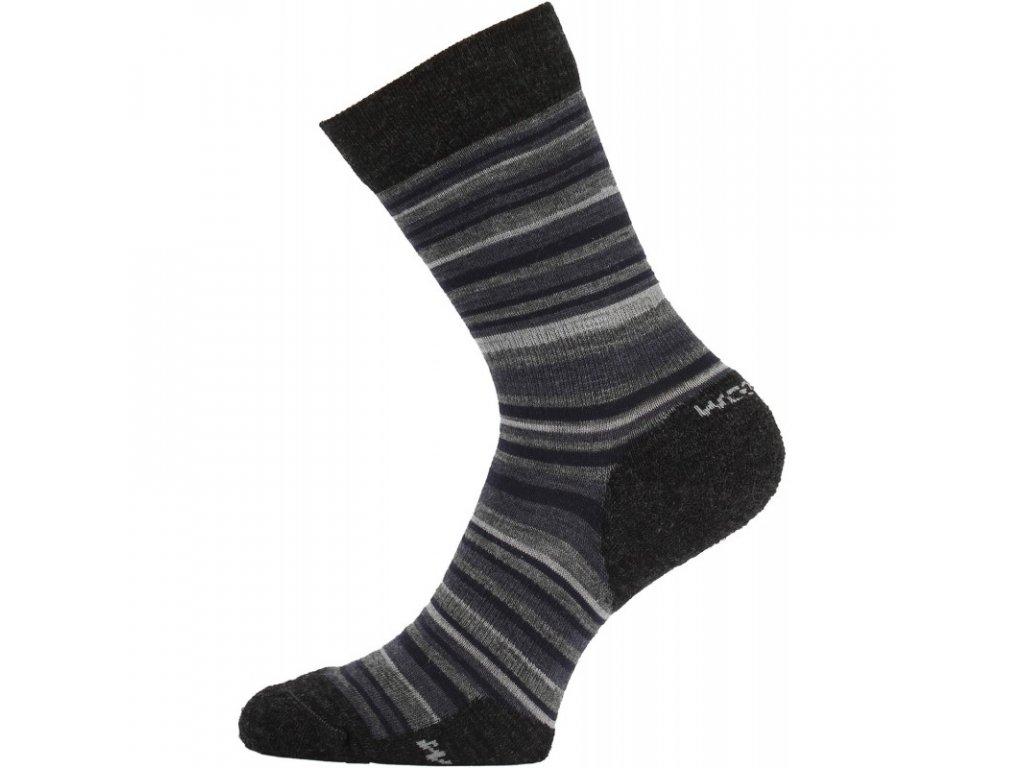 Lasting merino ponožky WPL šedá