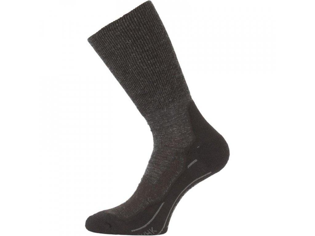 Lasting merino ponožky WHK šedé
