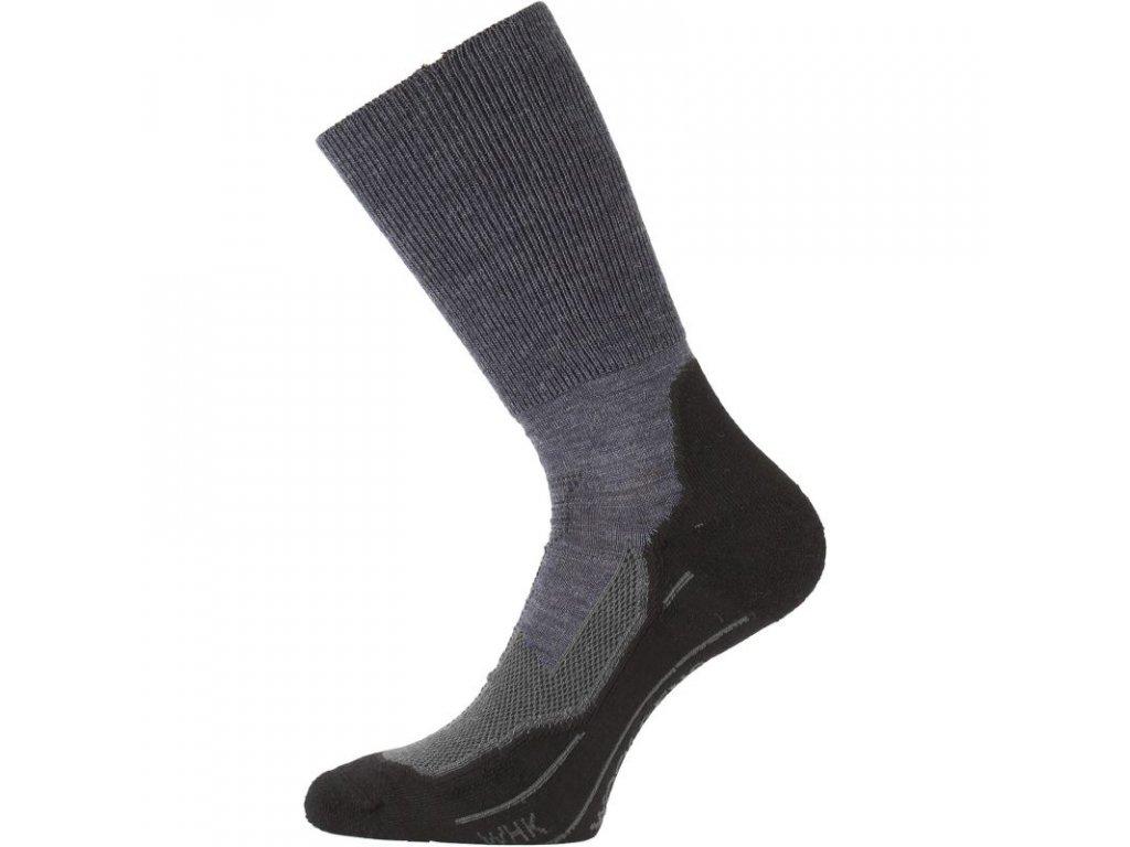 Lasting merino ponožky WHK modré