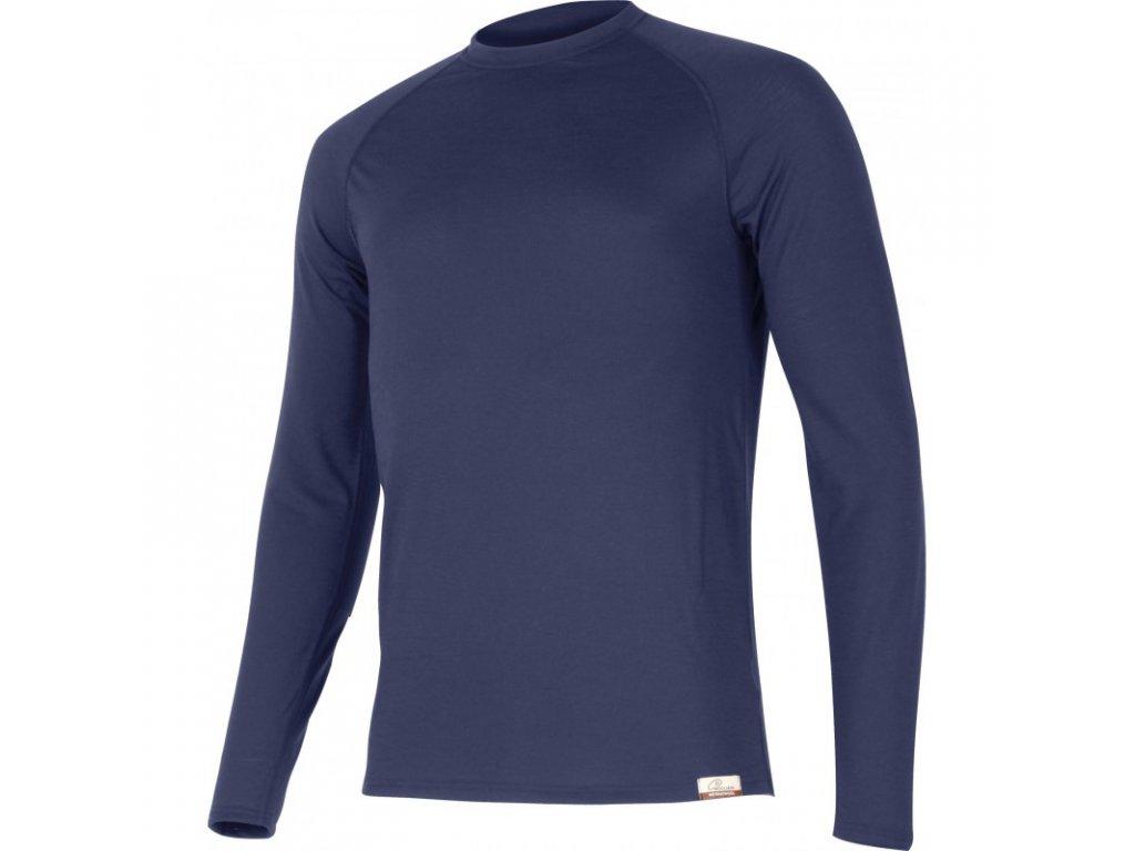 Lasting pánské merino triko ATAR modré