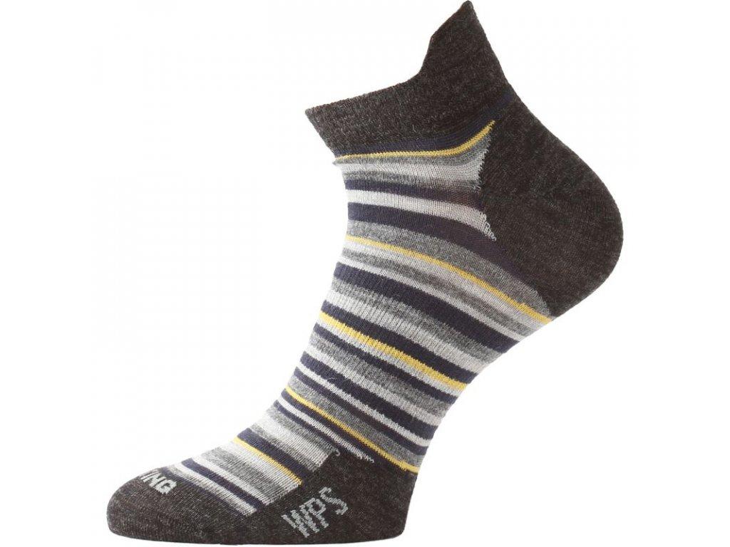 lasting merino ponozky wps modra 801