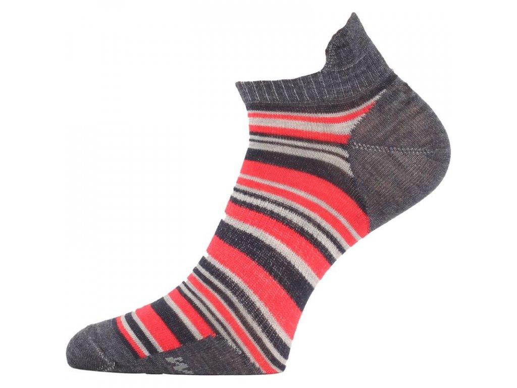 lasting merino ponozky wps cervene 503
