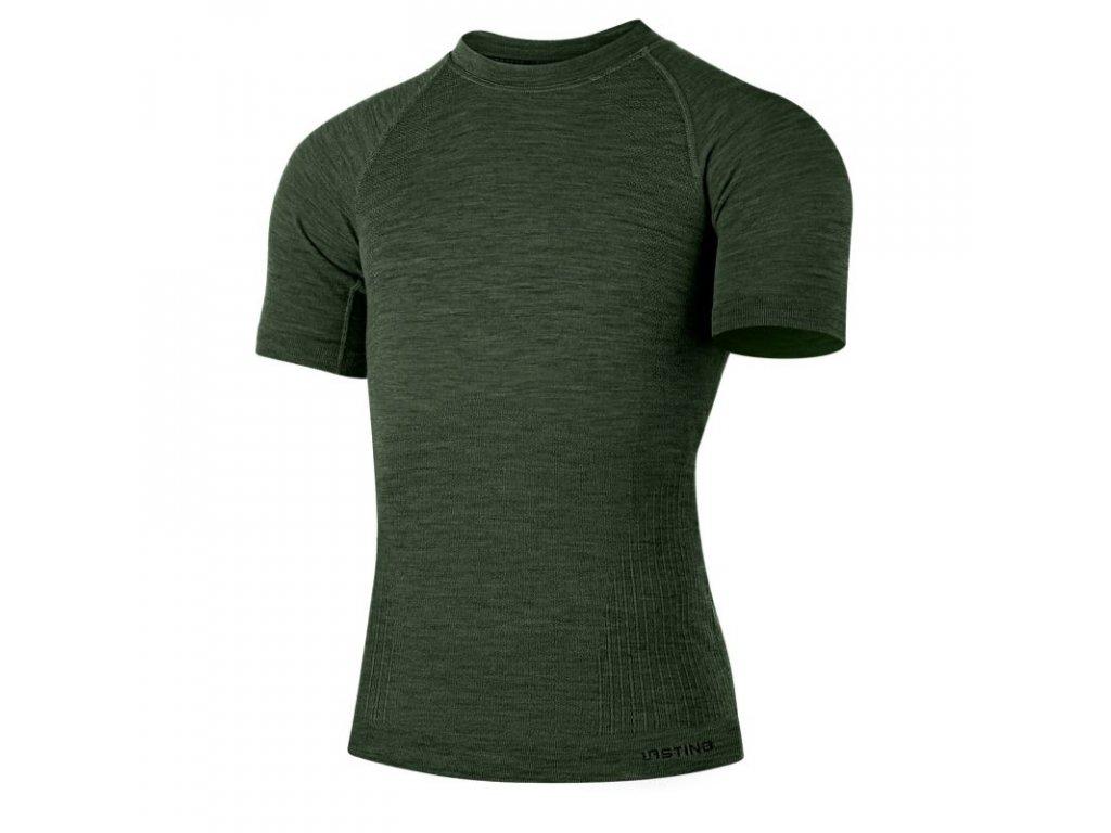 lasting panske merino triko mabel zelene 6160