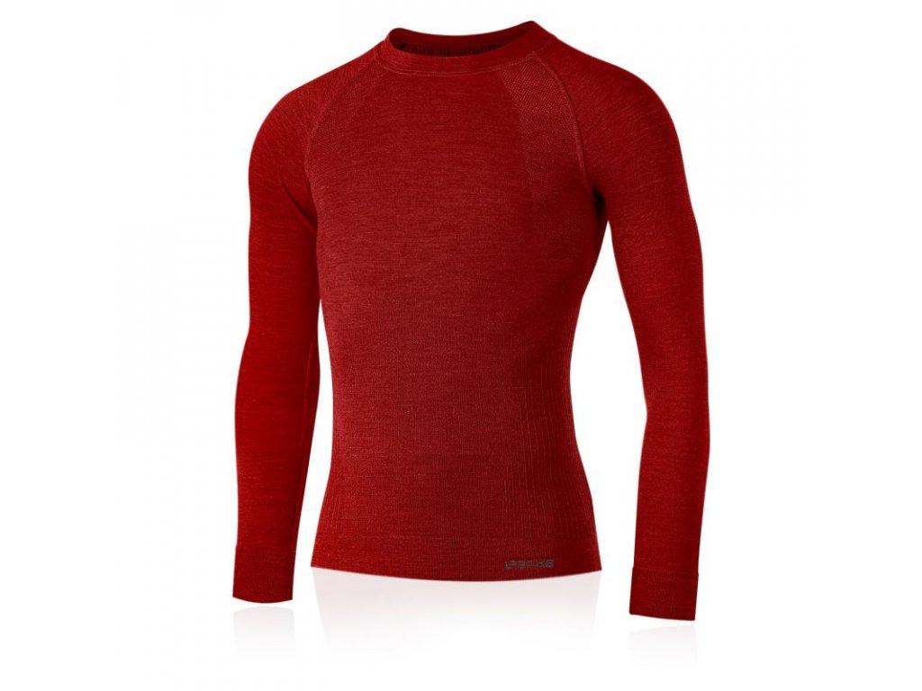 lasting panske merino triko mapol cervene 3160