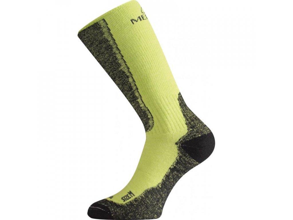 lasting merino ponozky wsm zelene 689