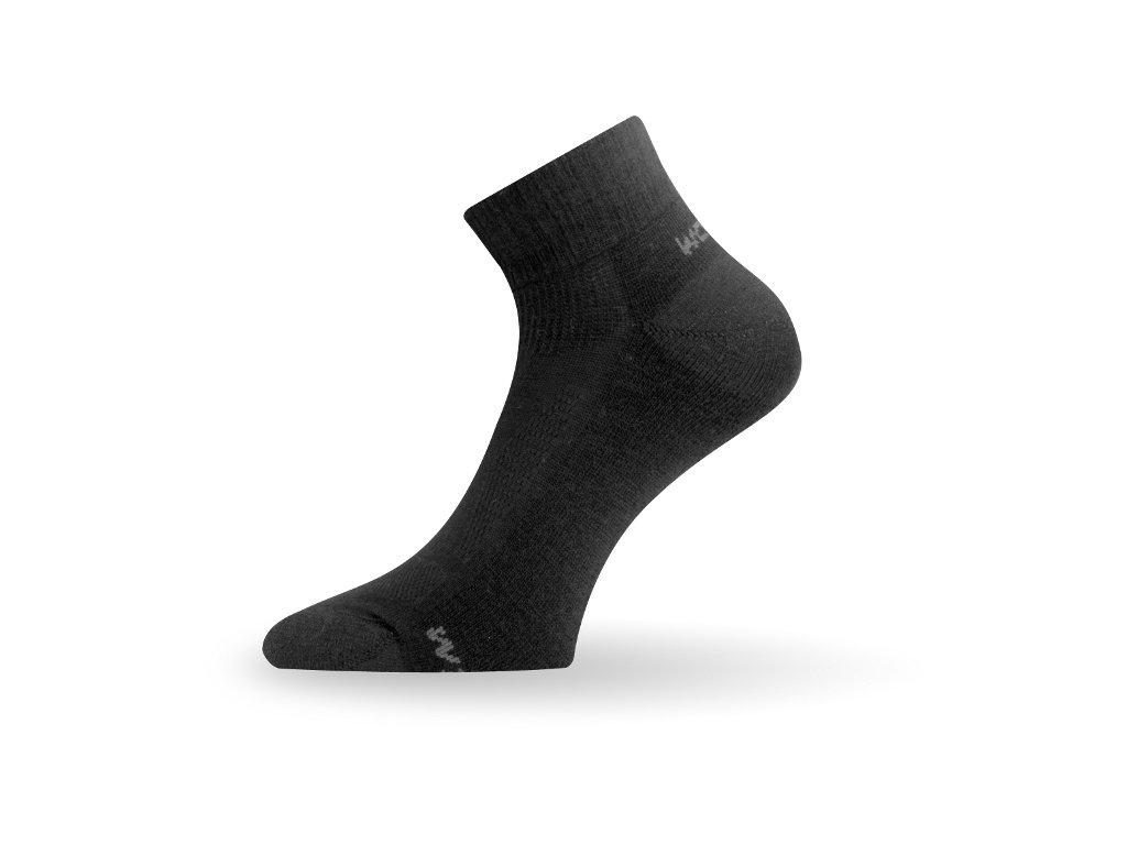 Lasting merino ponožky WDL černé