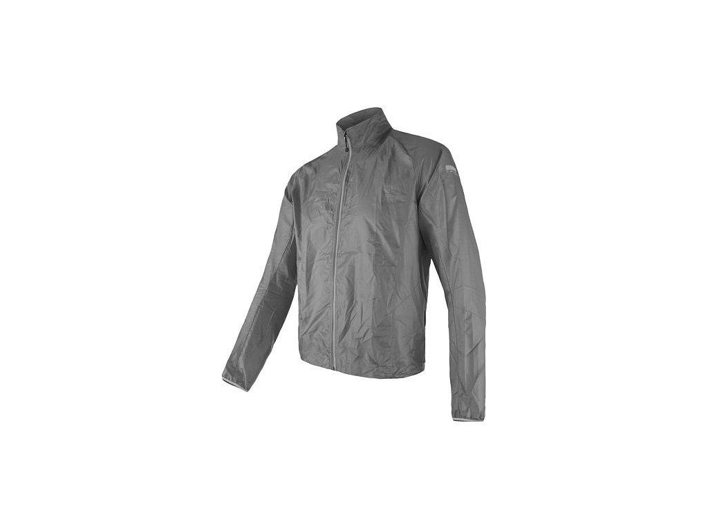 SENSOR PARACHUTE pánská bunda, extrémně lehká větrovka, šedá