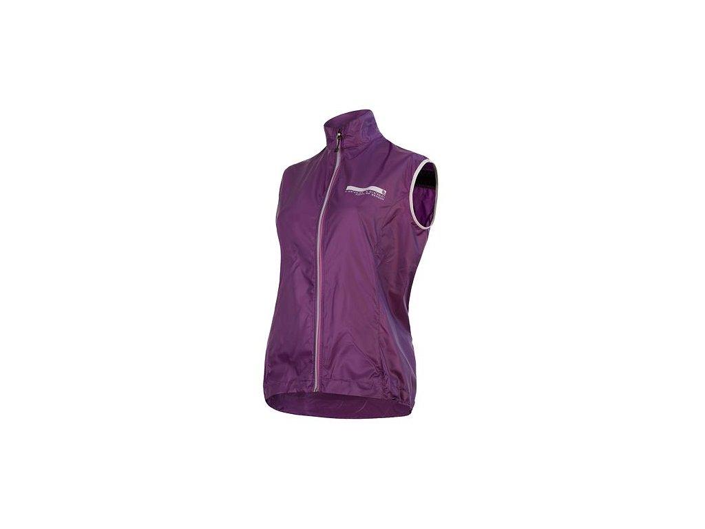 SENSOR PARACHUTE dámská vesta ultra-lite, fialová