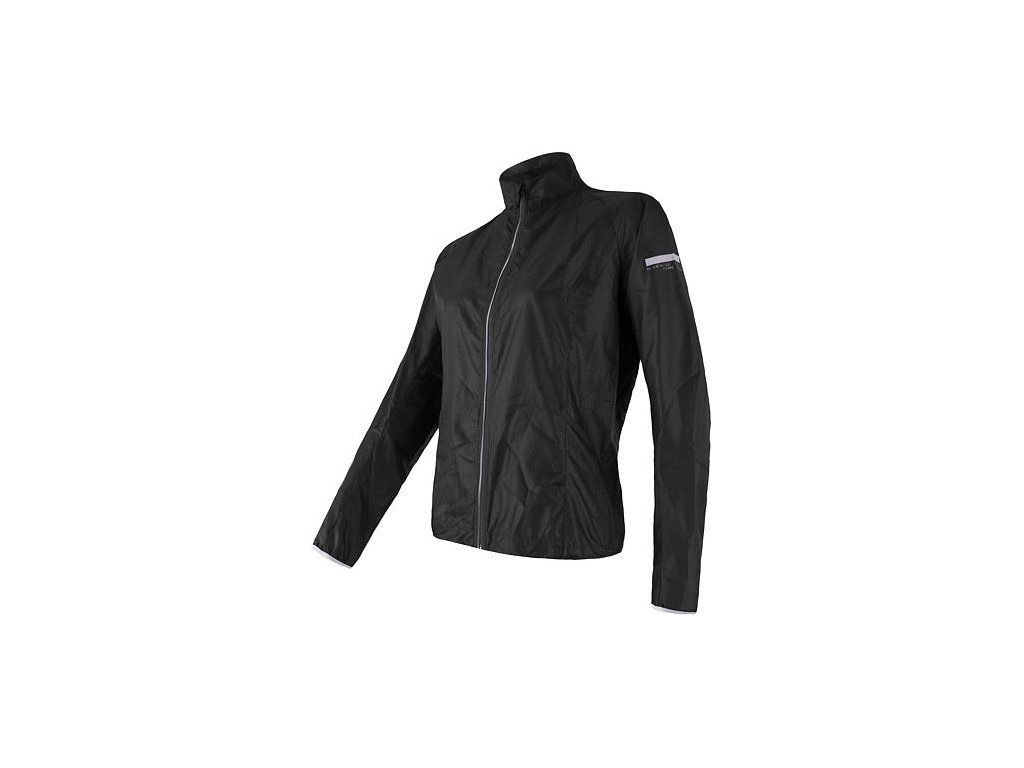 SENSOR PARACHUTE dámská bunda, extrémně lehká větrovka, černá