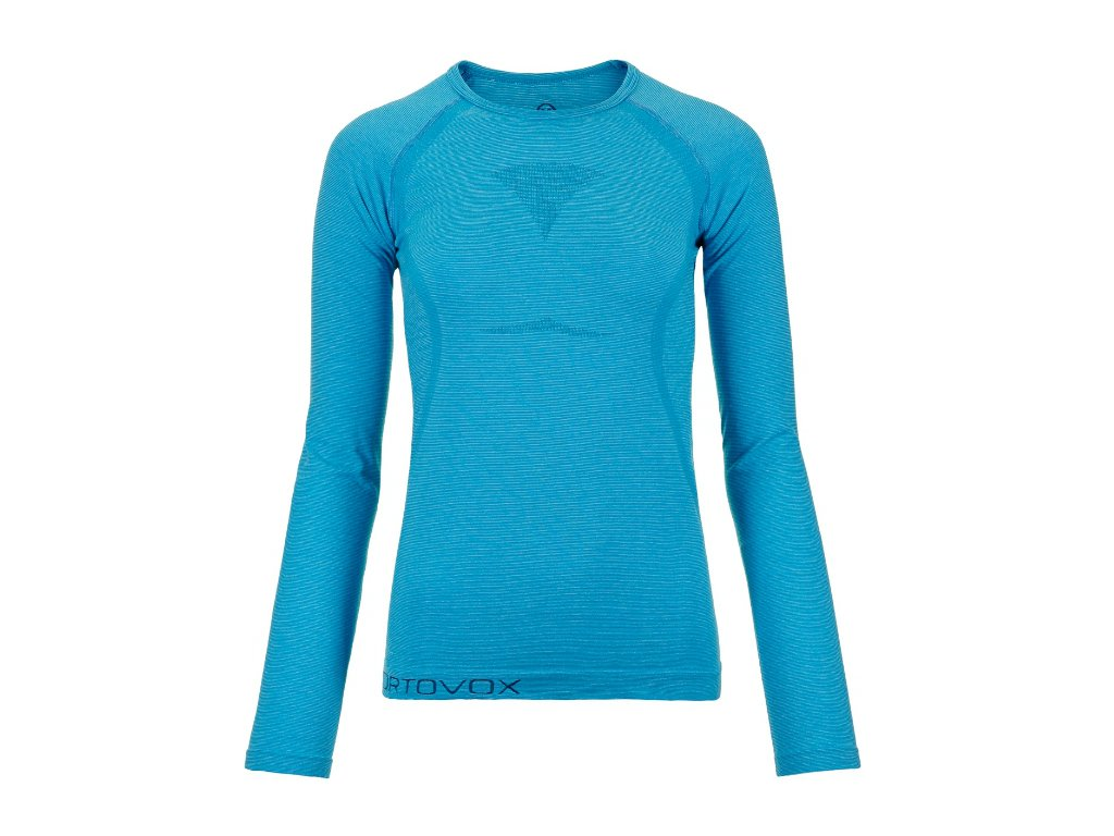 ORTOVOX Merino bezešvé triko COMPETITION COOL W's, modrá