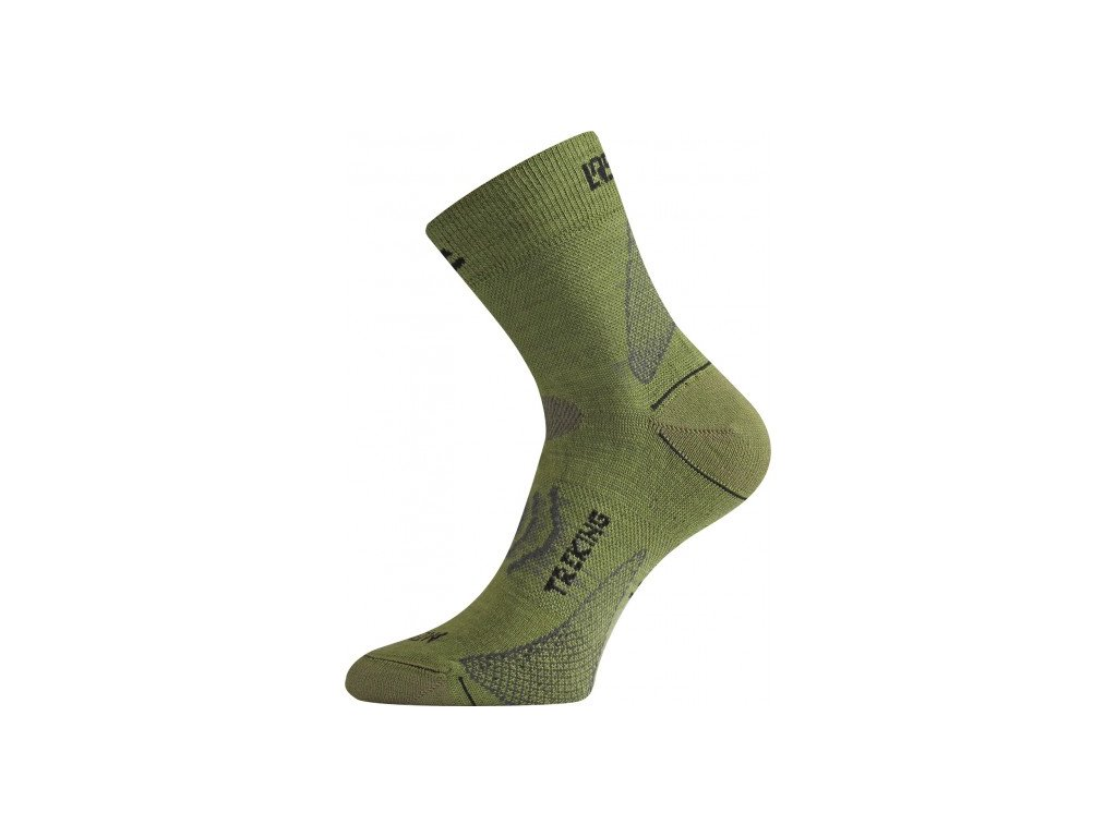 Lasting merino ponožky TNW zelené