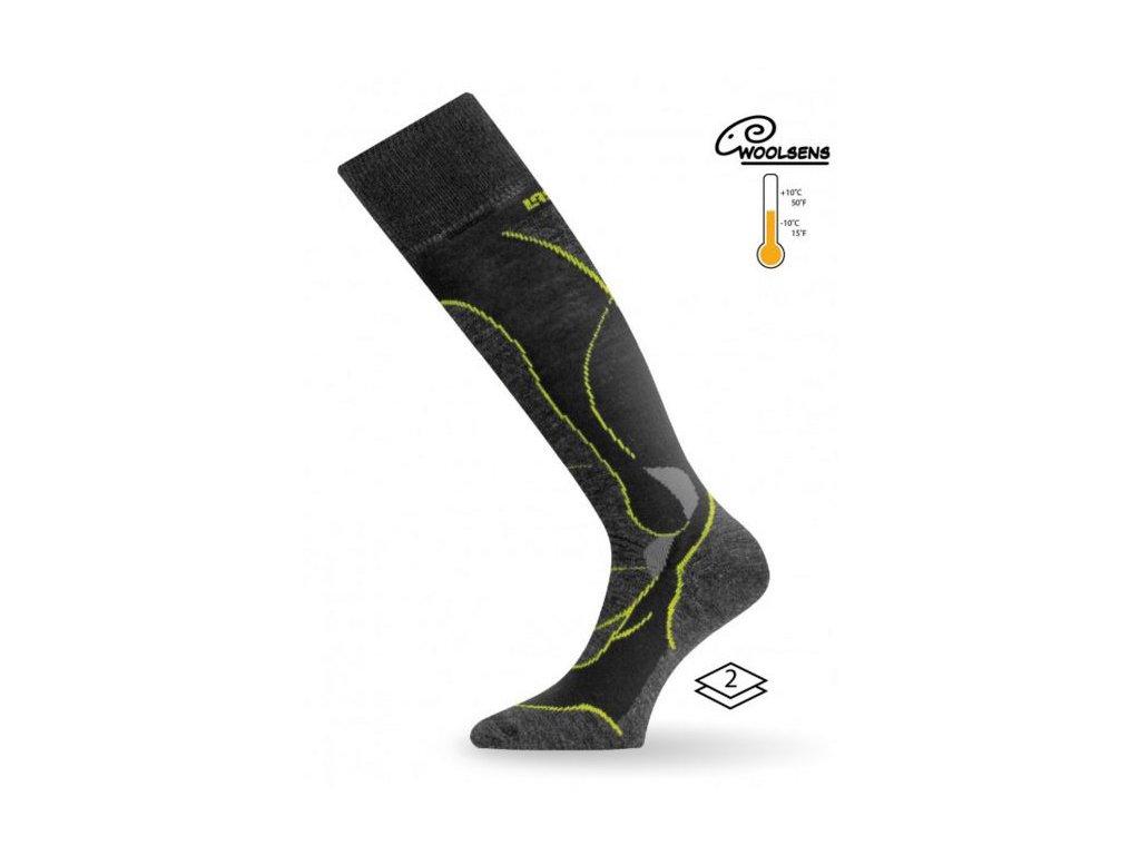 Lasting STW lyžařské Merino ponožky