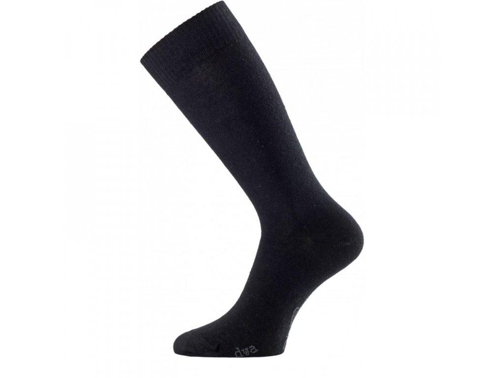 Lasting merino ponožky DWA černé