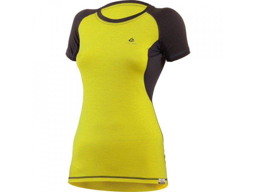 Lasting dámské merino triko ZITA žluté