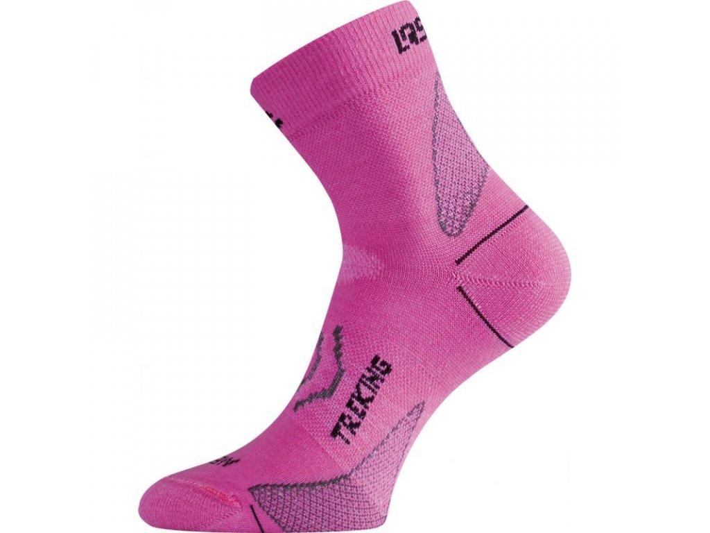 Lasting merino ponožky TNW růžové