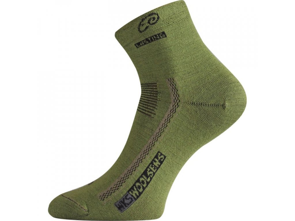 Lasting merino ponožky WKS zelené