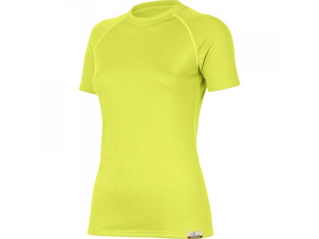 Lasting dámské merino triko ALEA žluté