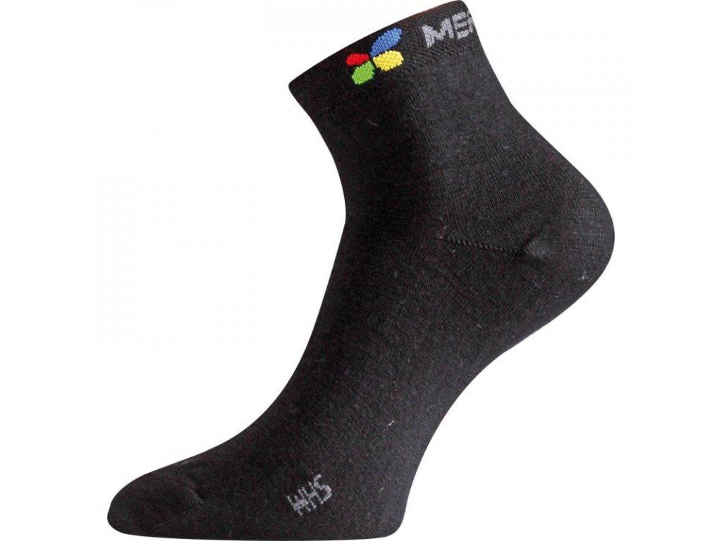 Lasting merino ponožky WHS černé