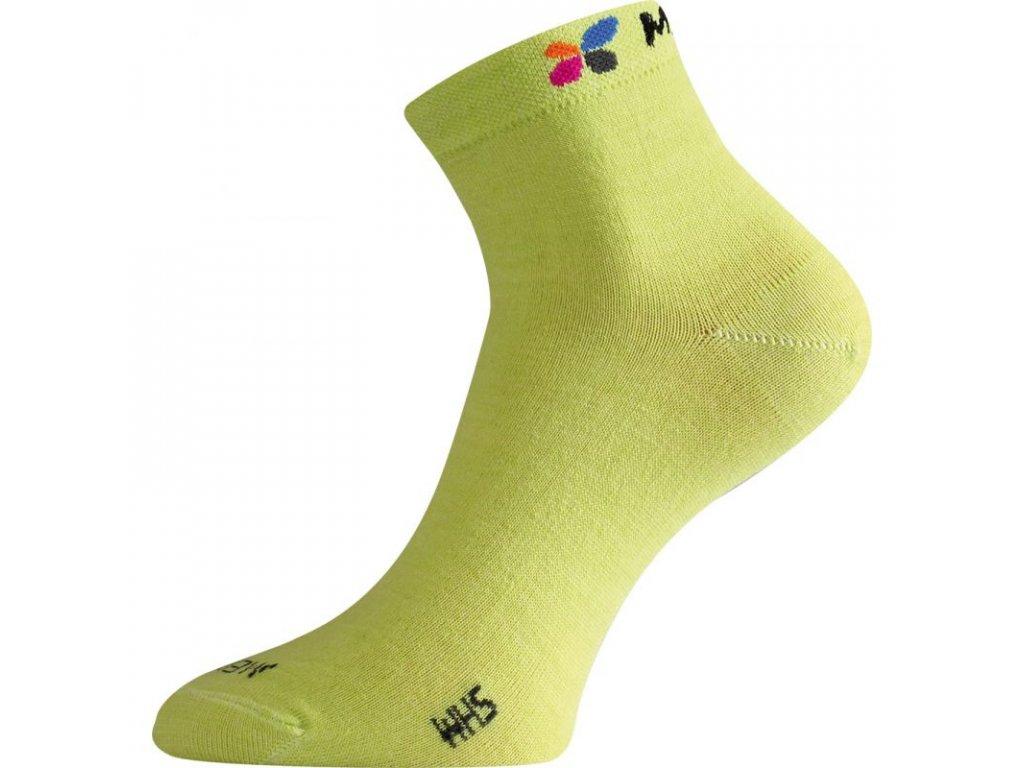 Lasting merino ponožky WHS zelené