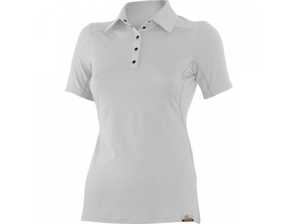 Lasting dámská merino polo košile ALISA šedá