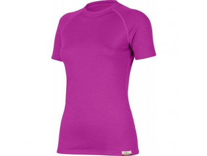 Lasting dámské merino triko ALEA růžové