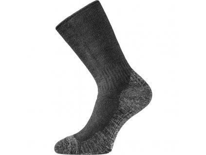 Lasting merino ponožky WSM černé
