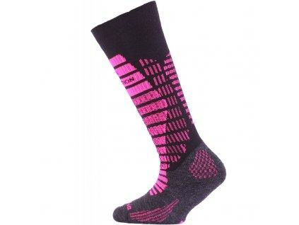 LASTING SJR Dětské merino ponožky