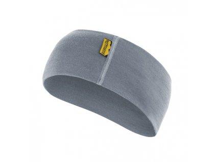 SENSOR ČELENKA merino wool šedá