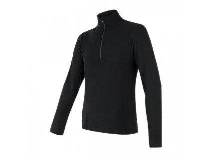 SENSOR MERINO EXTREME pánské triko+zip