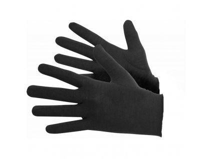Lasting merino rukavice ROK černé