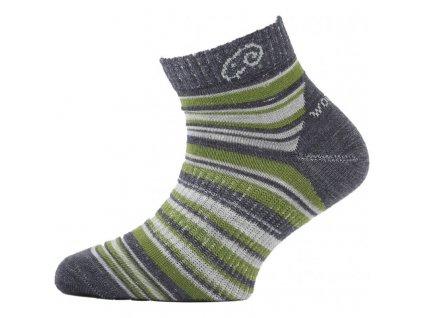 LASTING TJP Dětské merino ponožky