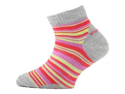 Lasting dětské merino ponožky TJP červené