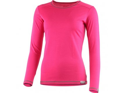 Lasting dámské merino triko MATA růžové