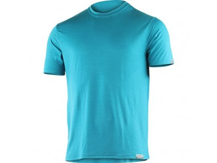 Lasting pánské merino triko CHUAN modré