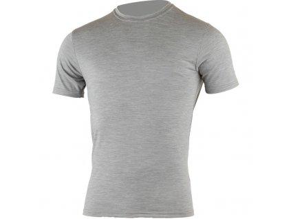 Lasting pánské merino triko CHUAN šedé