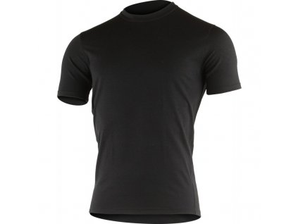 Lasting pánské merino triko LAMAR černé