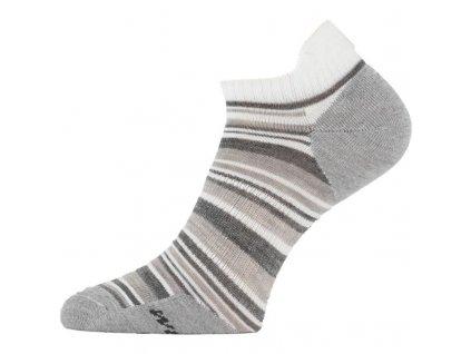 Lasting merino ponožky WCS šedé