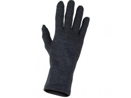 Lasting merino rukavice ROK šedé