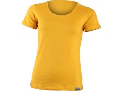 lasting damske merino triko irena zlute 2121