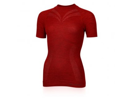 lasting damske merino triko malba cervené 3160