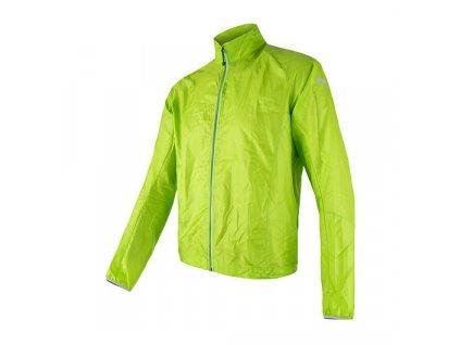 SENSOR PARACHUTE pánská bunda, extrémně lehká větrovka, zelená