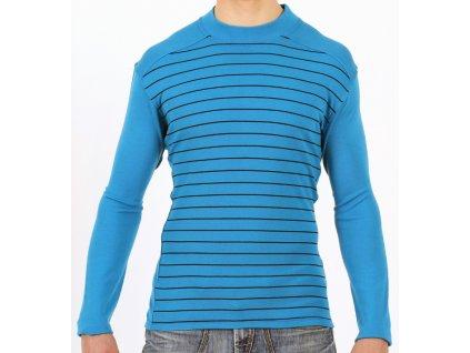Lasting pánská merino triko RUDY modré