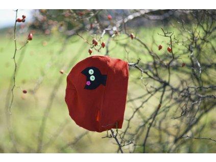 Merino čepice ČERVENÁ - obrázky na výběr